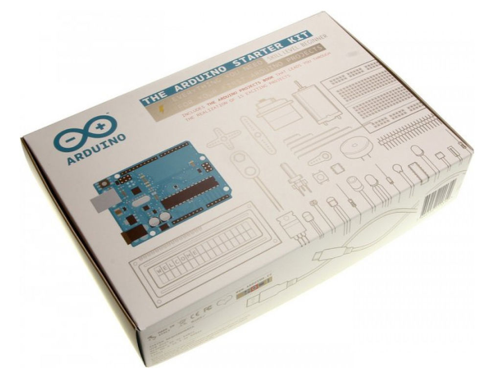 Is the official starter kit best arduino