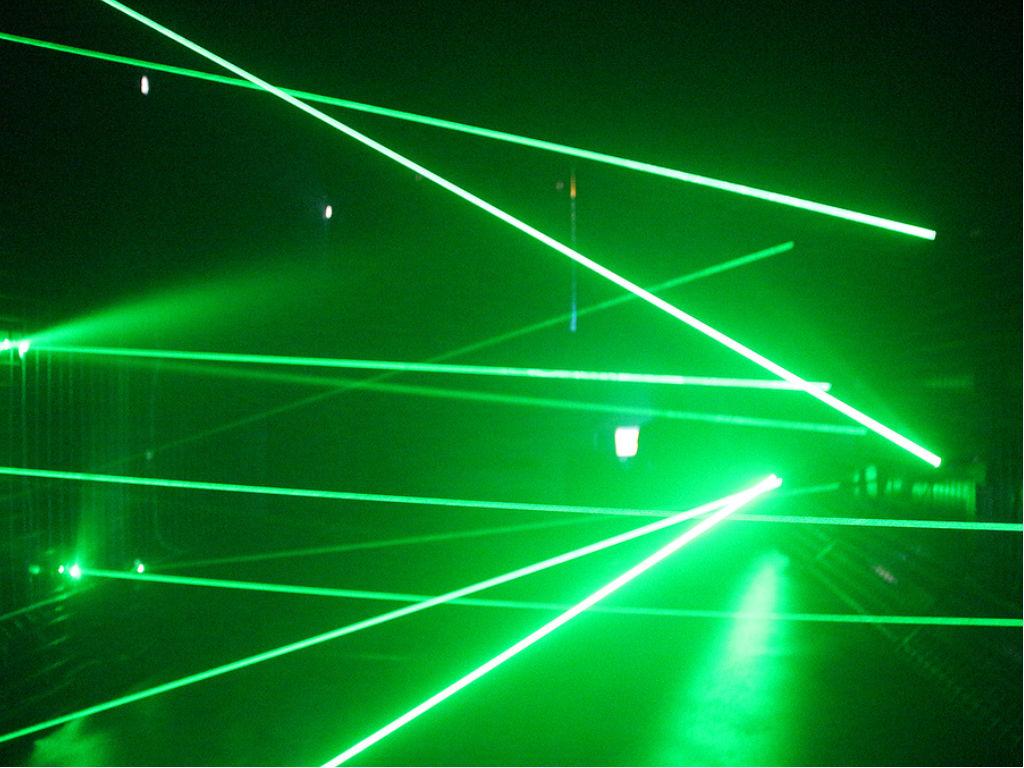 Laser maze powered by arduino codeduino