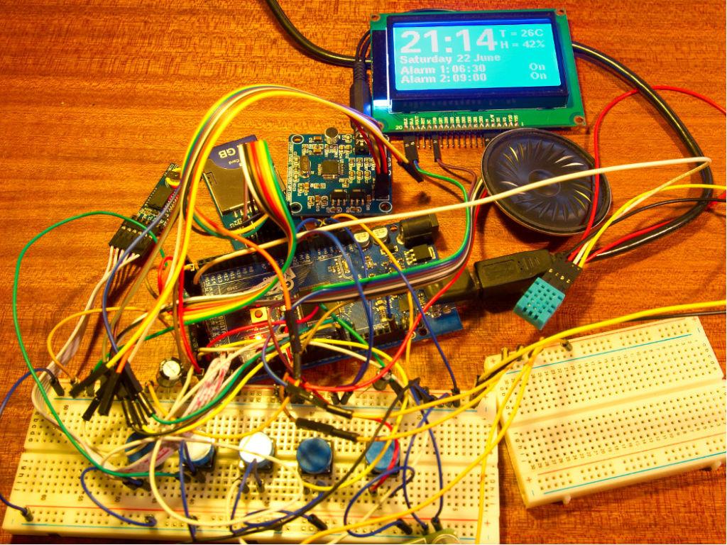 GitHub - smching/Arduino-based-LCD-Digital-Clock