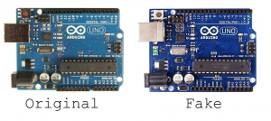 Original vs Fake Arduino