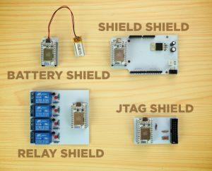 SparkCore Shields