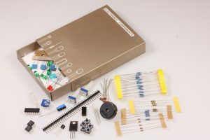 The Arduino Starter Kit's collection of components is impressive