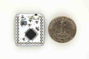 The Microduino is tiny!