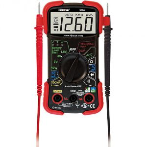 The Innova 3320 is the best budget multimeter you can buy