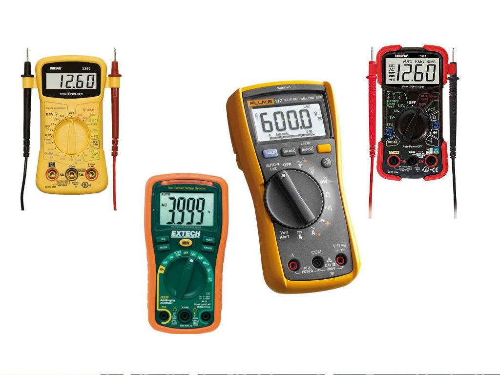 Different Types Of Multimeters : Digital multimeter reviews the best