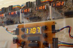 Closeup of Average Clock