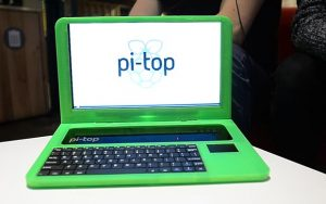The Pi-Top up and running